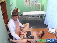 Sex-starved doctor fucks a female agent
