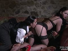 Hot lesbian fuck with Cindy Dollar and Belicia Avalos
