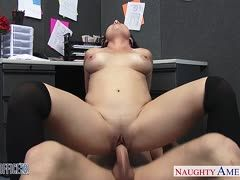 Office slut Holly West knows what she wants