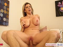 Sara Jay lets her stepson fuck her