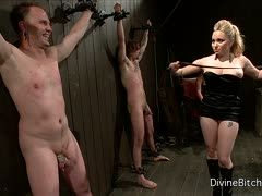 Aiden Starr und Ashley Edmonds foltern ihre Sexsklaven