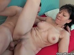Mature whores are into big young cocks