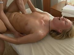 Hardcore Teen Fick bei der Massage